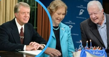 Jimmy Carter celebrates another milestone this year
