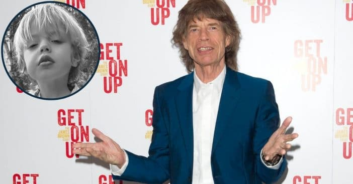 Mick Jagger's Girlfriend Melanie Hamrick Shares Adorable Photo Of 4-Year-Old Son