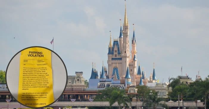 Mother And Disabled Son Visiting Disney Receive Nasty Note For Taking Up 2 Parking Spots