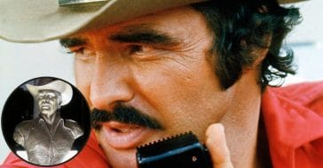 New Burt Reynolds Sculpture At His Grave Site Honors 'Smokey And The Bandit'