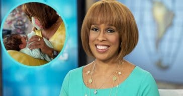 New grandmother Gayle King welcomes her first and favorite grandson Luca
