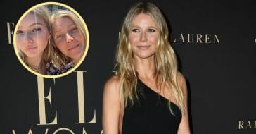 Paltrow and her daughter