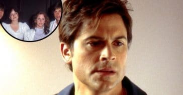 Rob Lowe posts throwback double date photo