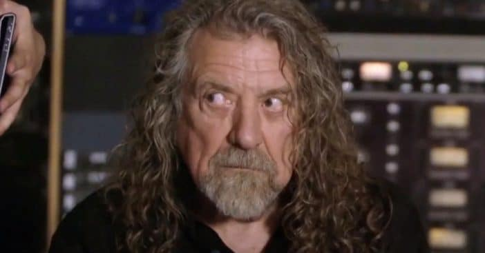 Robert Plant makes fun of heritage bands