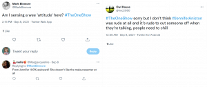 Some responses to the interview