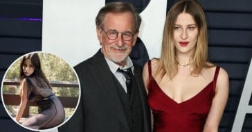 Steven Spielberg's Daughter Turns Heads In See-Through Dress