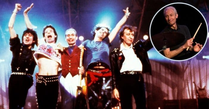 The Rolling Stones Dedicate Emotional First Performance Back To Charlie Watts