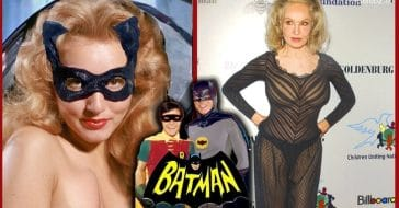 The cast of the 'Batman' TV series then and now