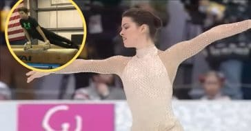 The gymnast and the figure skater