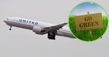 United Airlines Seeks Help From Customers To 'Go Green' With Taxpayer Funds