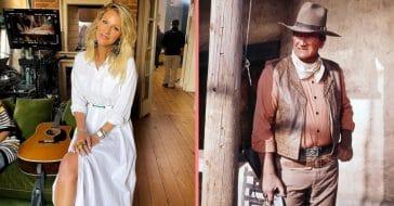Jennifer and John Wayne