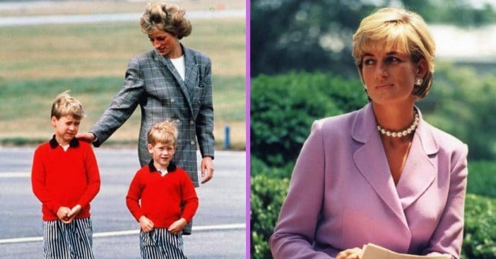 Why Princess Diana Wanted To Move To California With Prince William & Harry