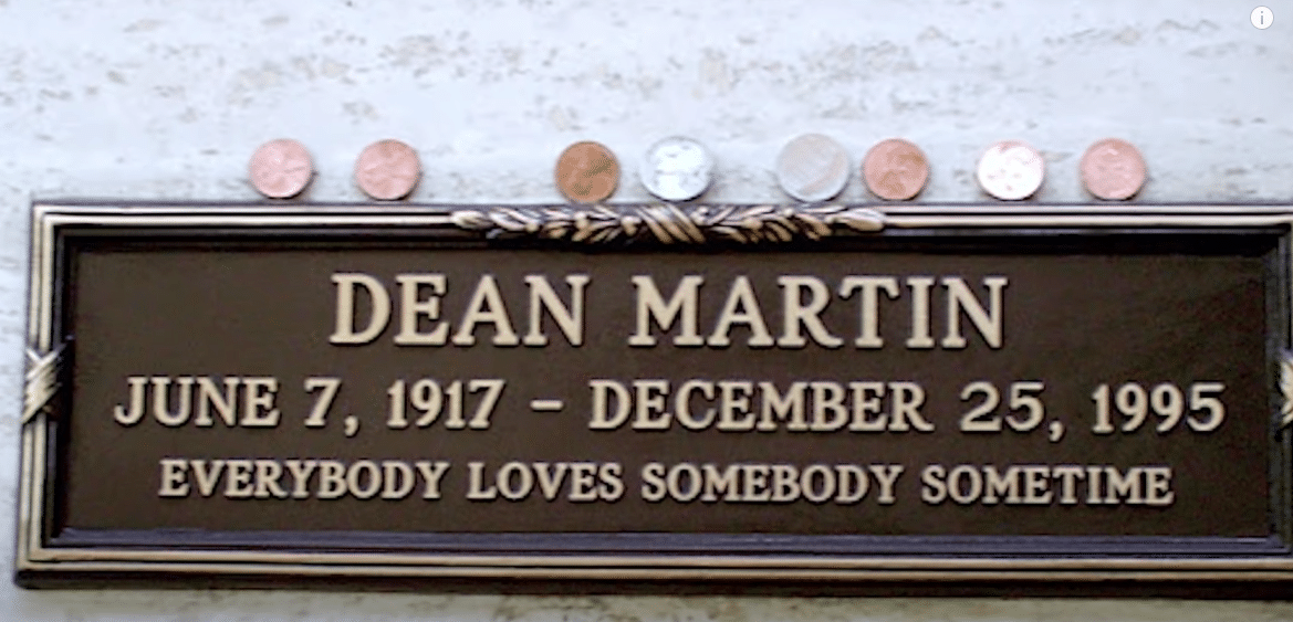 Dean Martin's epitaph