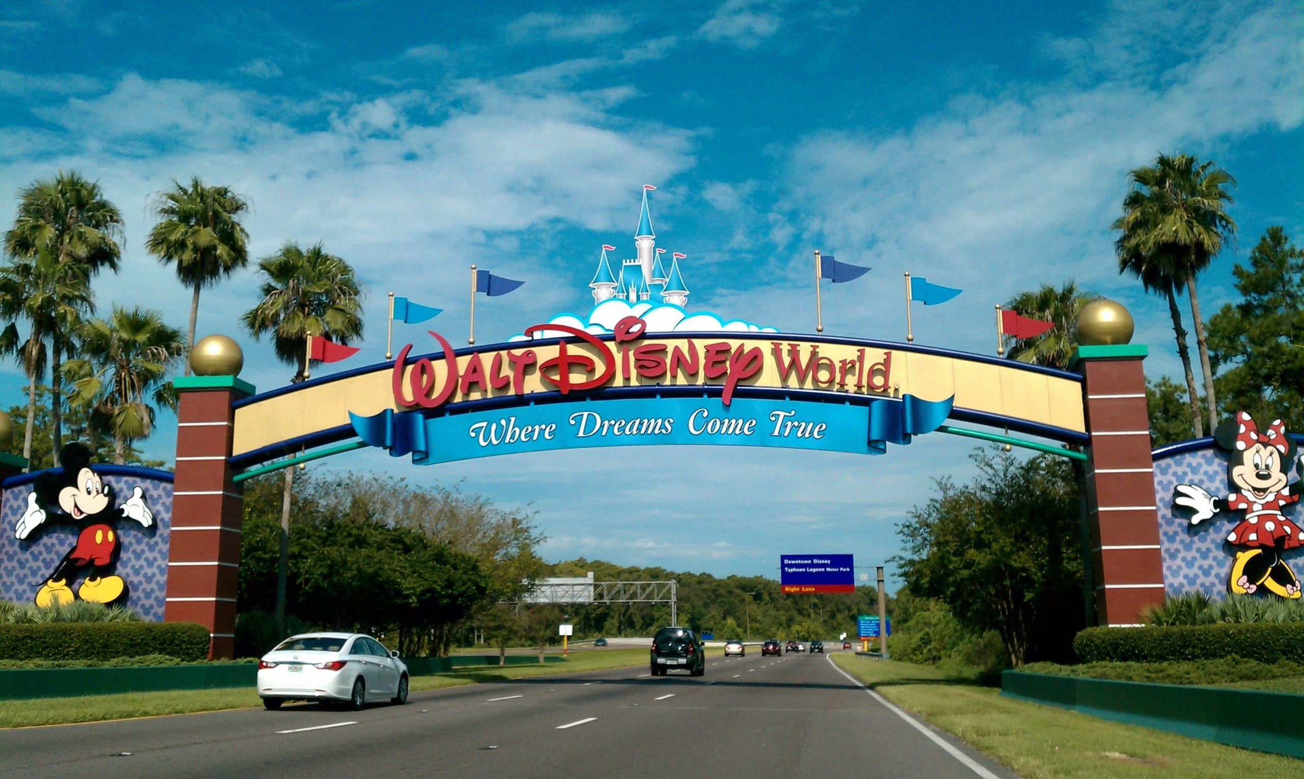 Entrance to Disney World