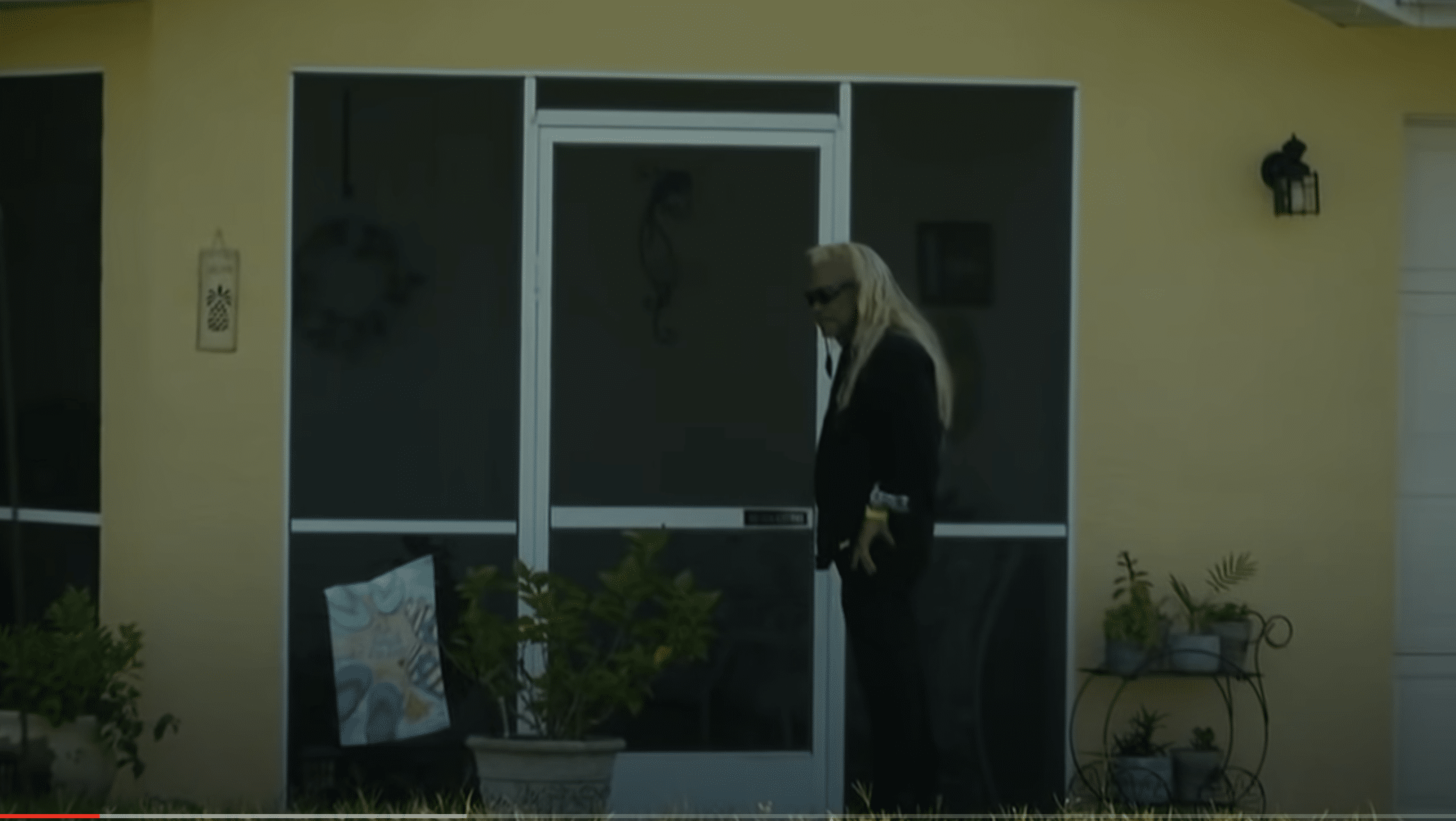 Dog the bounty hunter enters Laundrie property