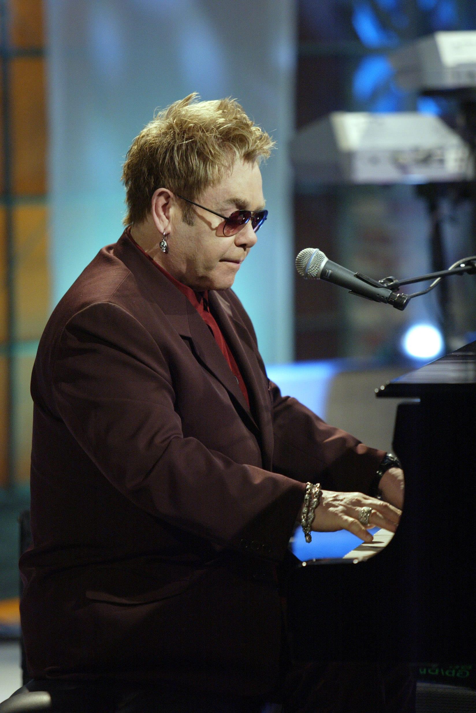 THE TONIGHT SHOW WITH JAY LENO, Elton John