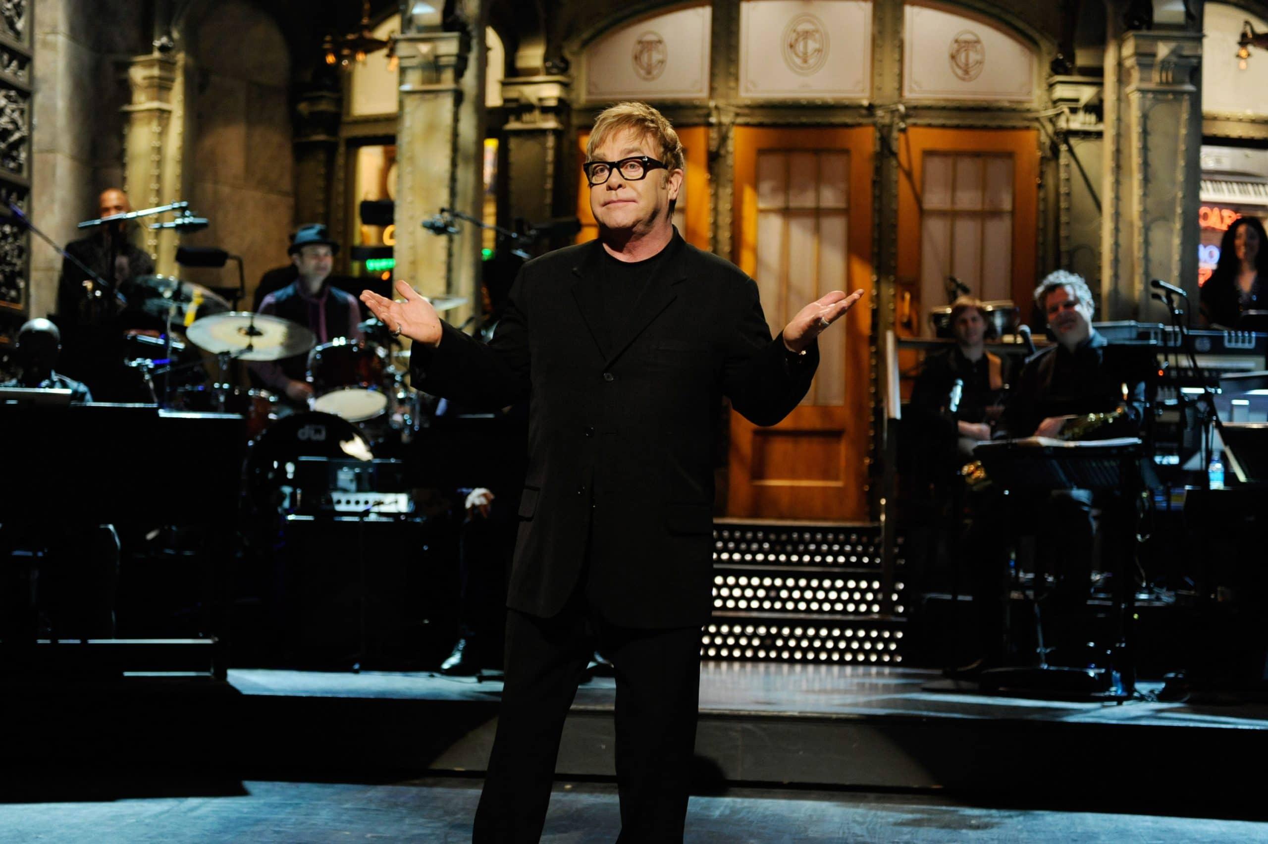 SATURDAY NIGHT LIVE, Elton John, 'Opening Monalogue'