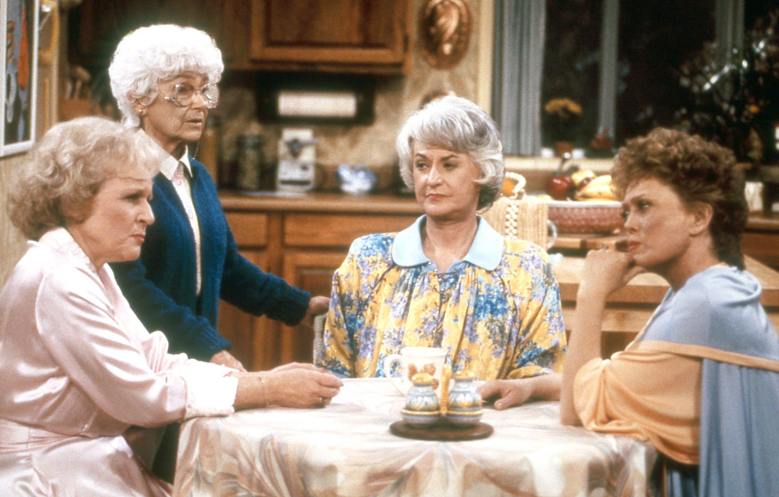 Betty White, Estelle Getty, Bea Arthur, Rue McClanahan