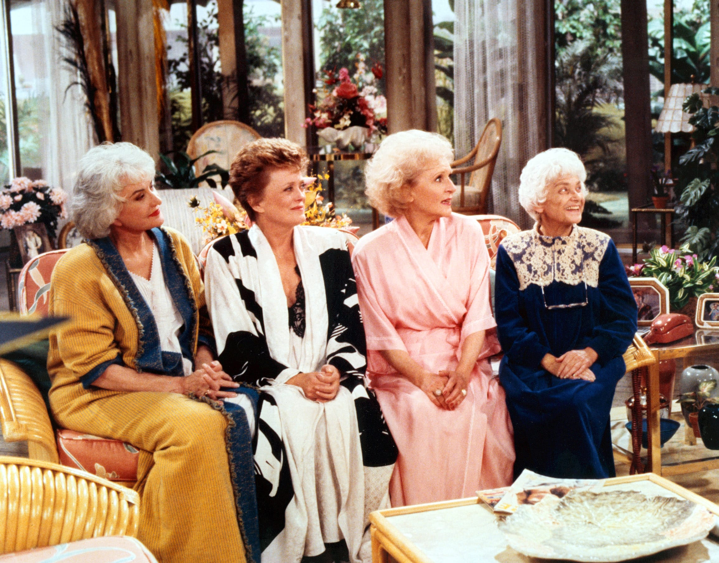 Bea Arthur, Rue McClanahan, Betty White, Estelle Getty