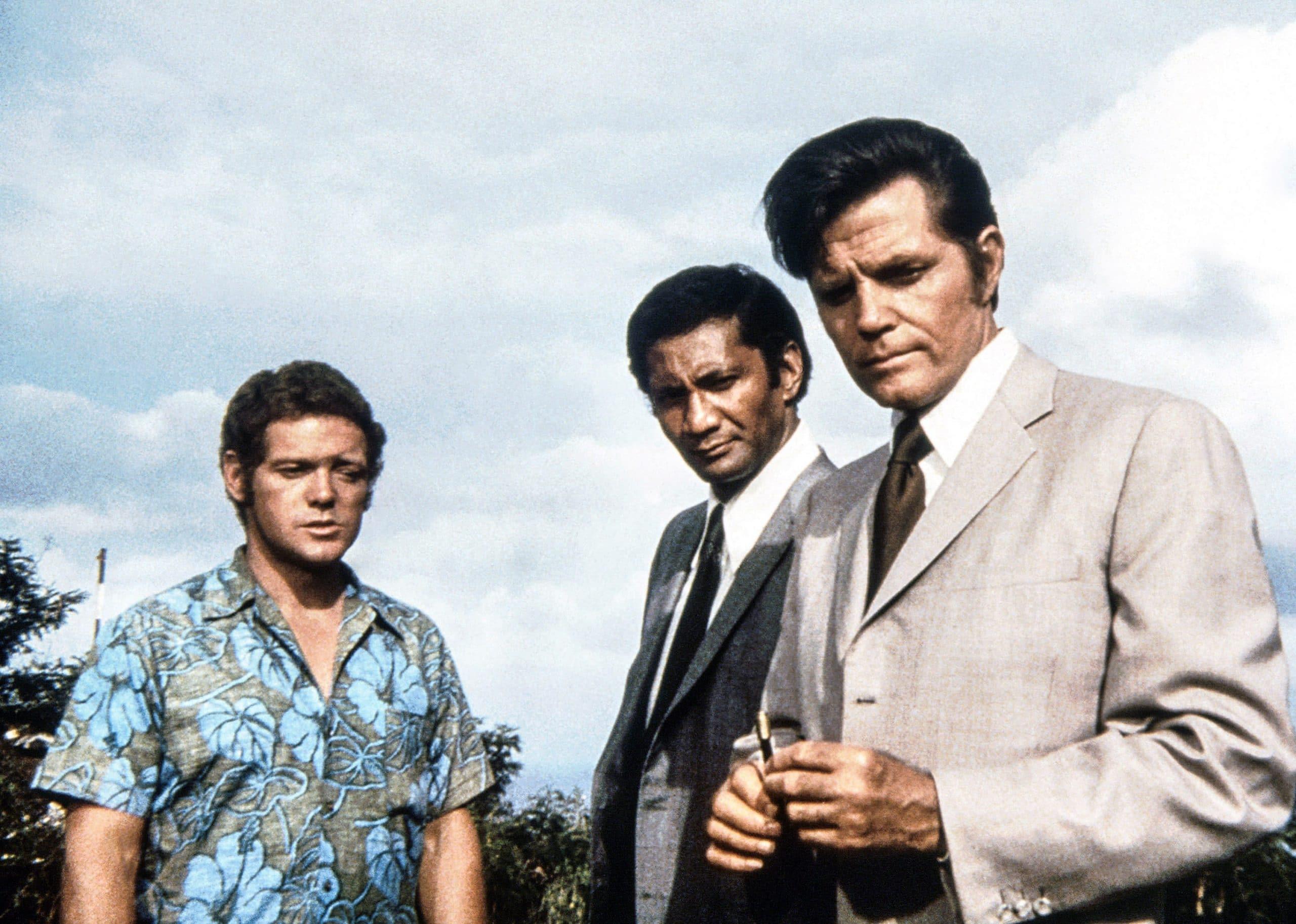 James MacArthur, Al Harrington, Jack Lord