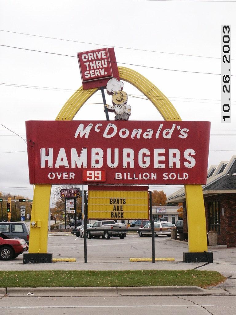 Vintage McDonald's location