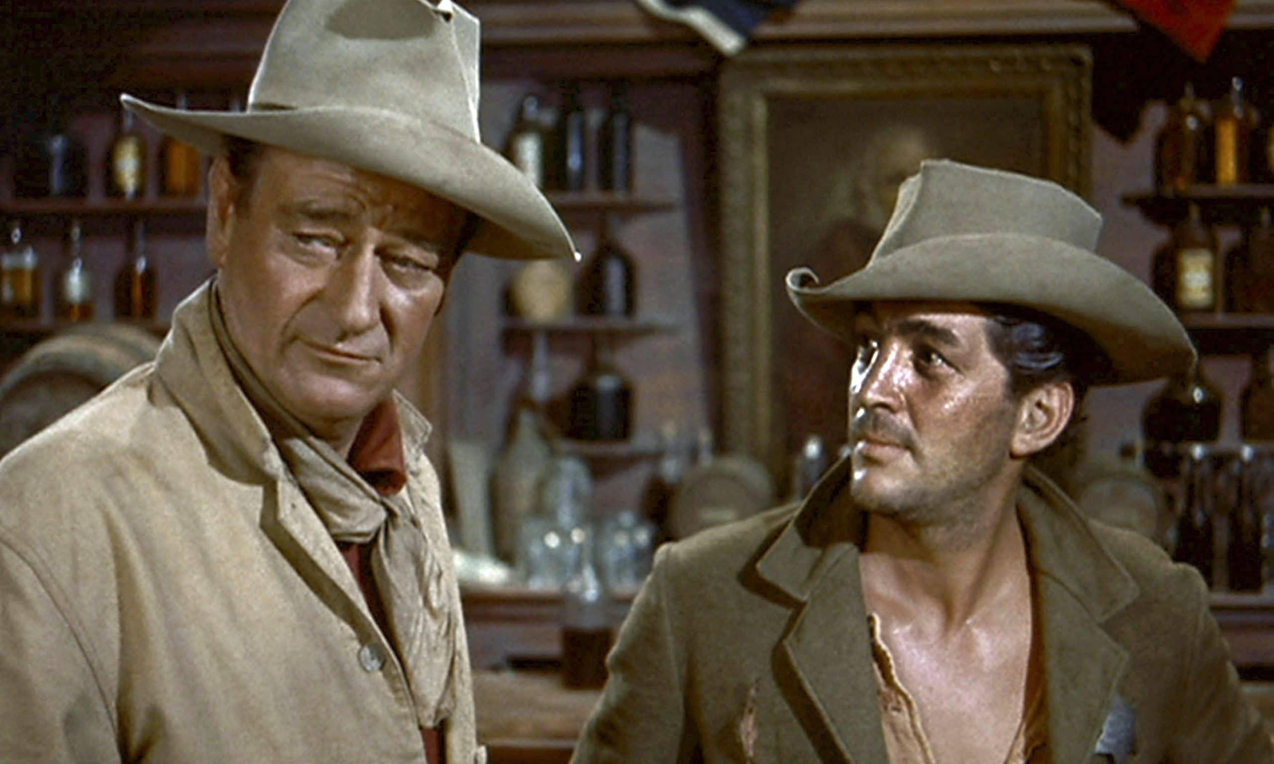 John Wayne, Dean Martin