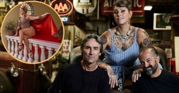 'American Pickers' Star Danielle Colby Stuns In New Cheetah Print Poolside Photo