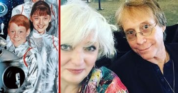 Angela Cartwright and Bill Mumy from 'Lost in Space'