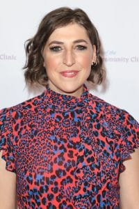 Angie shared her story with the new current host, Mayim Bialik