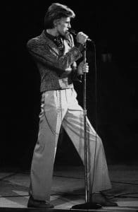 Bowie in 1974