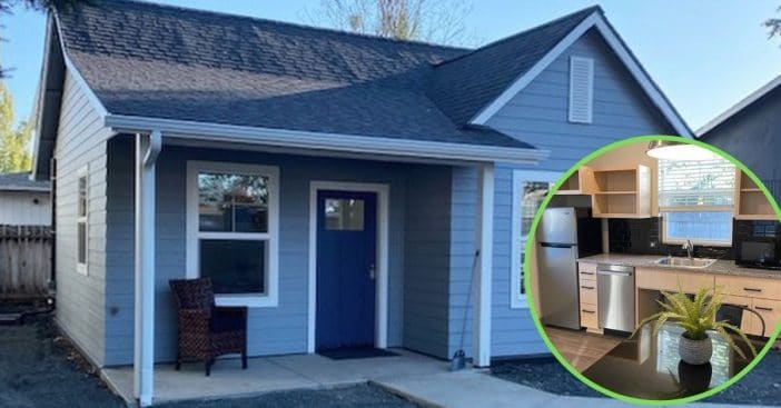 Community Comes Together To Build 500-Square-Foot Tiny House For Paralyzed Teenager