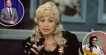 Dolly Parton talks about her celebrity crushes