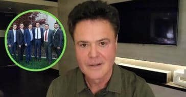 Donny Osmond and his sons