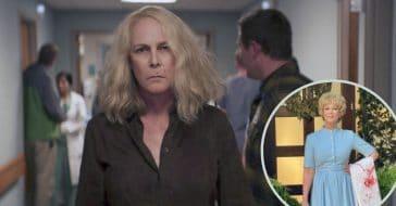 Jamie Lee Curtis honors her mom at Halloween Kills premiere