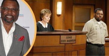 Judge Judy and bailiff Petri Hawkins-Byrd