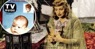 Lucille Ball and her son featured on first ever TV Guide