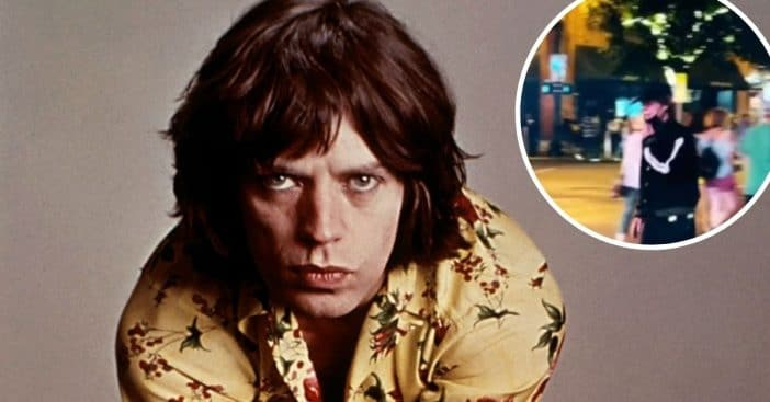 Mick Jagger goes unrecognized in Nashville