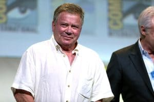 On October 12, William Shatner will follow in Captain Kirk's footsteps