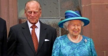 Queen Elizabeth and the late Prince Philip
