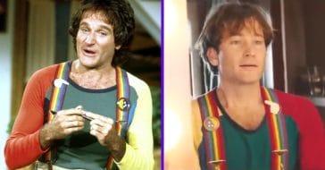 Robin Williams and Jamie Costa