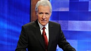 Stella recited the game's intro from when Alex Trebek hosted