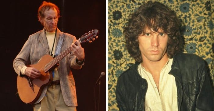 The Doors' Robby Krieger Says Jim Morrison Had A 'Fascination With Death' Before He Died