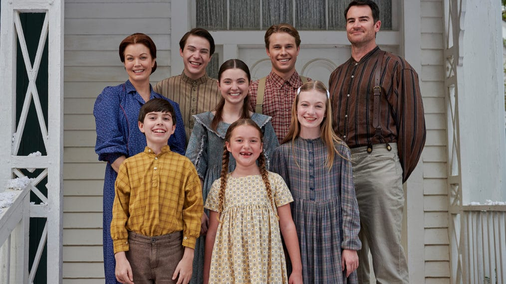 The cast of 'The Waltons' remake movie