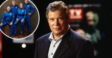 William Shatner talks about experience of going into space