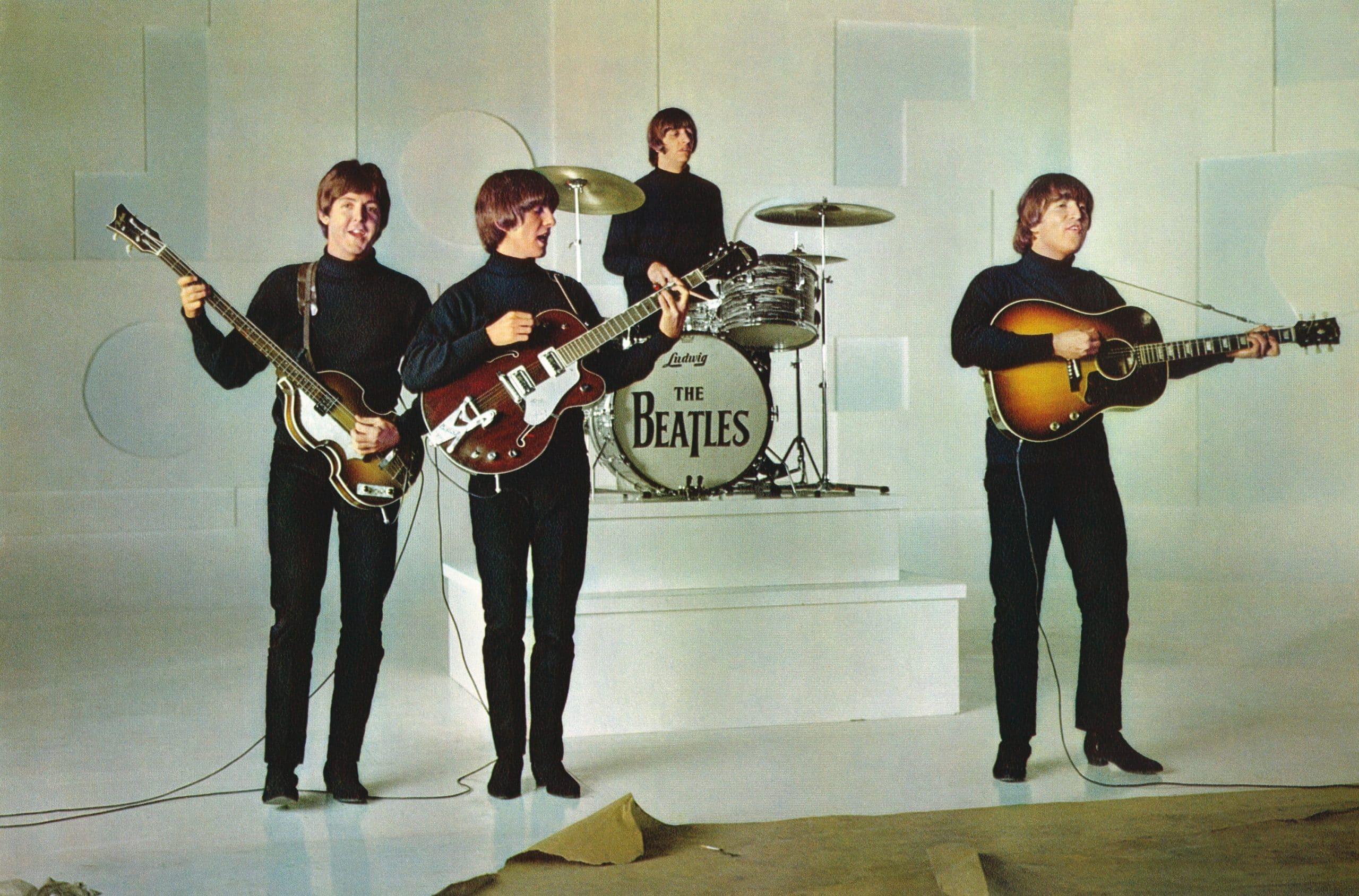 HELP!, from left: Paul McCartney, George Harrison, Ringo Starr, John Lennon 1965