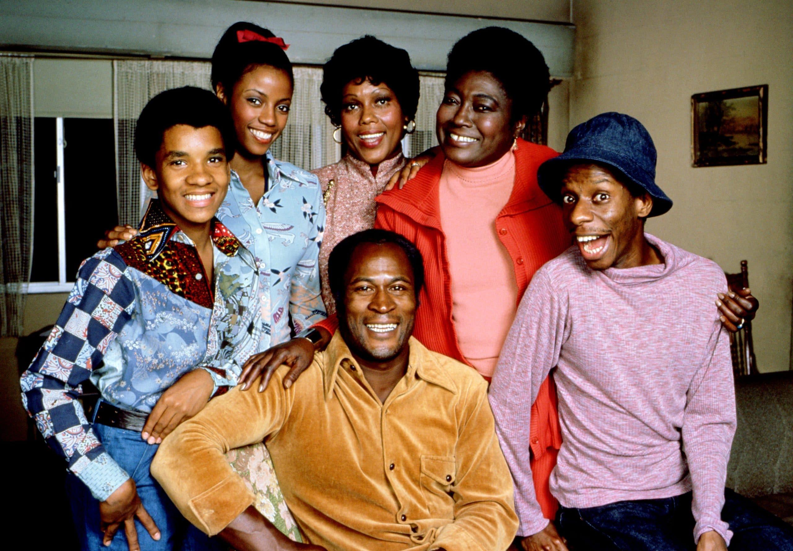 GOOD TIMES, Ralph Carter, BernNadette Stanis, Ja'net DuBois, John Amos, Esther Rolle, Jimmie Walker, 1974-1979