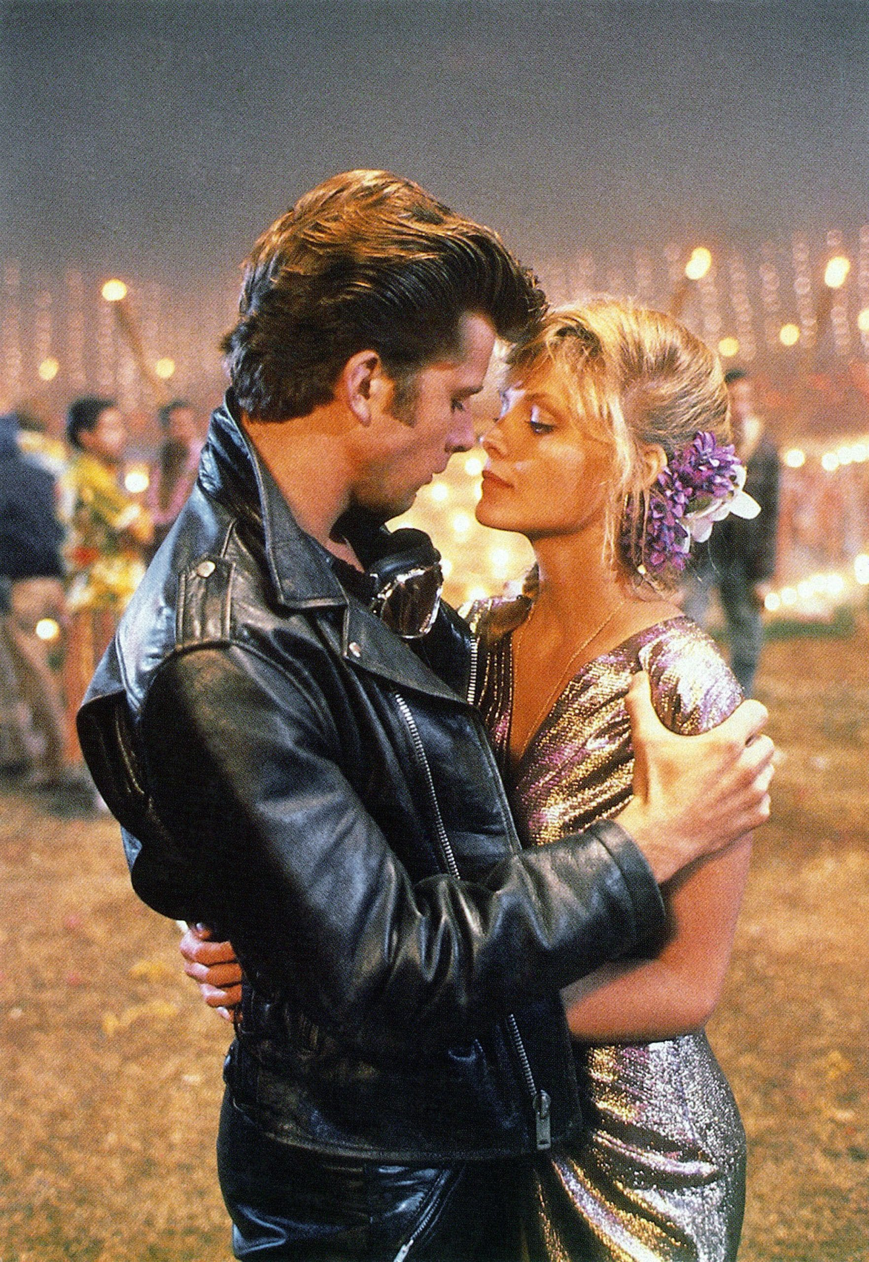 GREASE 2, from left: Maxwell Caulfield, Michelle Pfeiffer, 1982