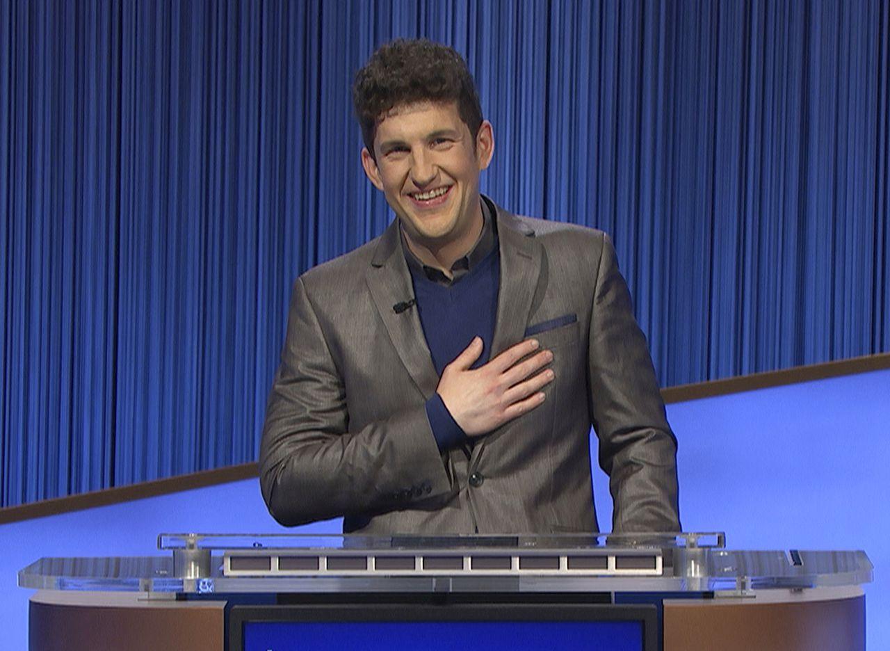 Matt Amodio on 'Jeopardy!'