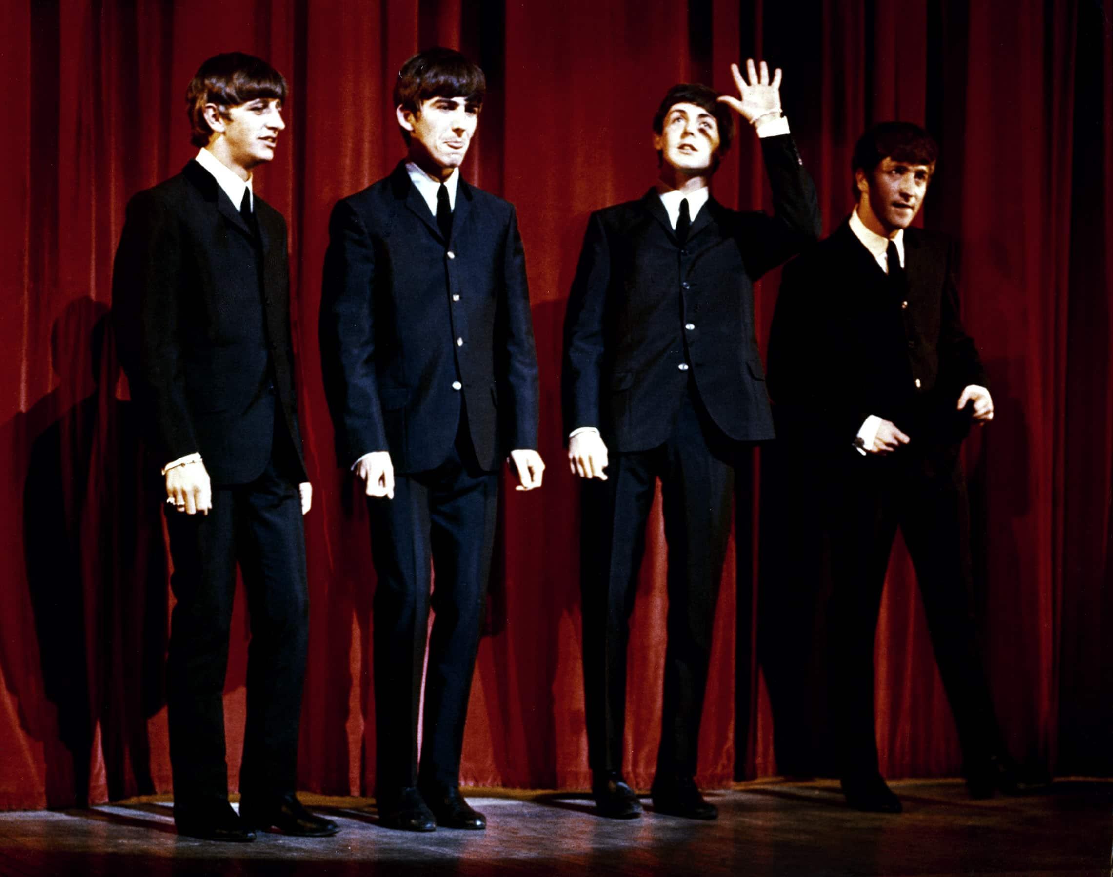 THE BEATLES, Ringo Starr, John Lennon, Paul McCartney, George Harrison, 1963