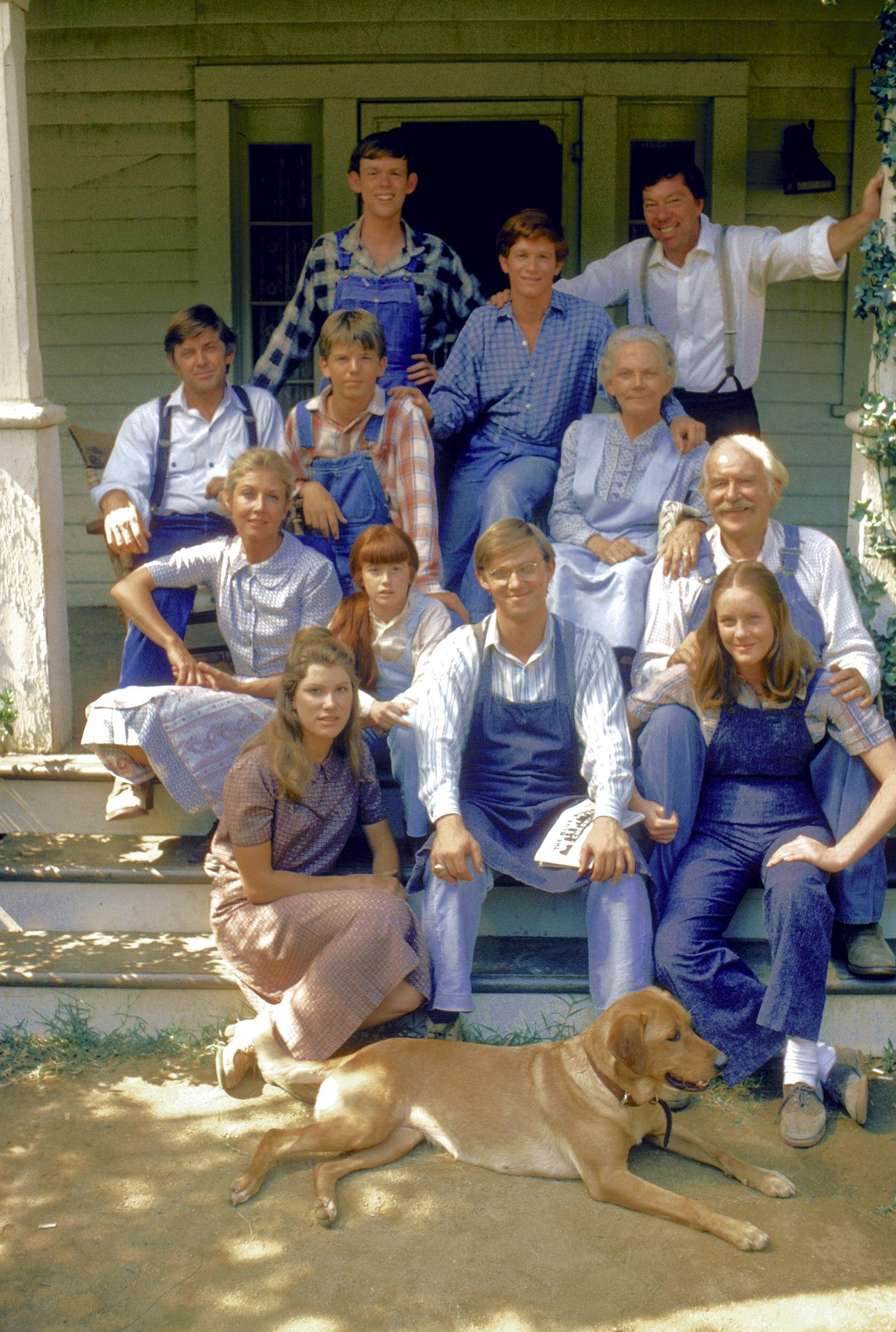 the waltons original cast